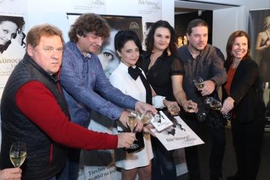 Křest CD Lucie Bílé - Bílé Vánoce II v Art & Event Gallery Černá Labuť